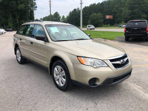 2008 Subaru Outback for sale at Galaxy Auto Sale in Fuquay Varina NC