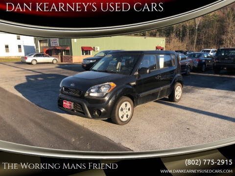 2013 Kia Soul for sale at DAN KEARNEY'S USED CARS in Center Rutland VT