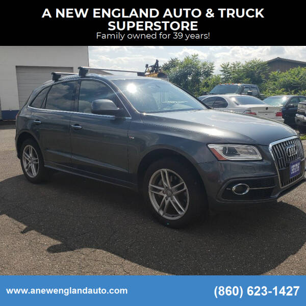 2016 Audi Q5 for sale at A NEW ENGLAND AUTO & TRUCK SUPERSTORE in East Windsor CT