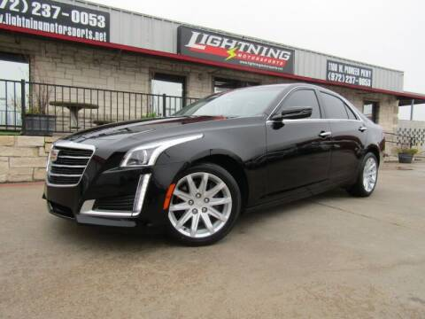 2016 Cadillac CTS for sale at Lightning Motorsports in Grand Prairie TX