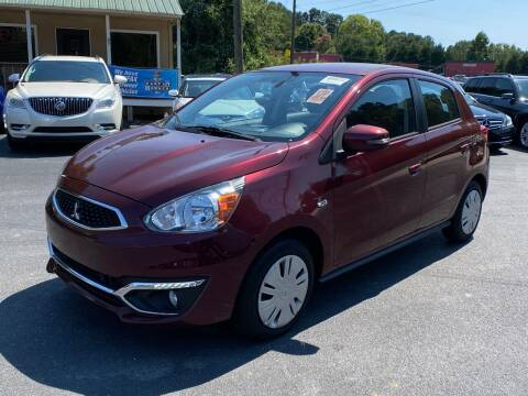 2017 Mitsubishi Mirage for sale at Luxury Auto Innovations in Flowery Branch GA
