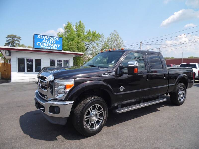 2013 Ford F-250 Super Duty for sale at Surfside Auto Company in Norfolk VA