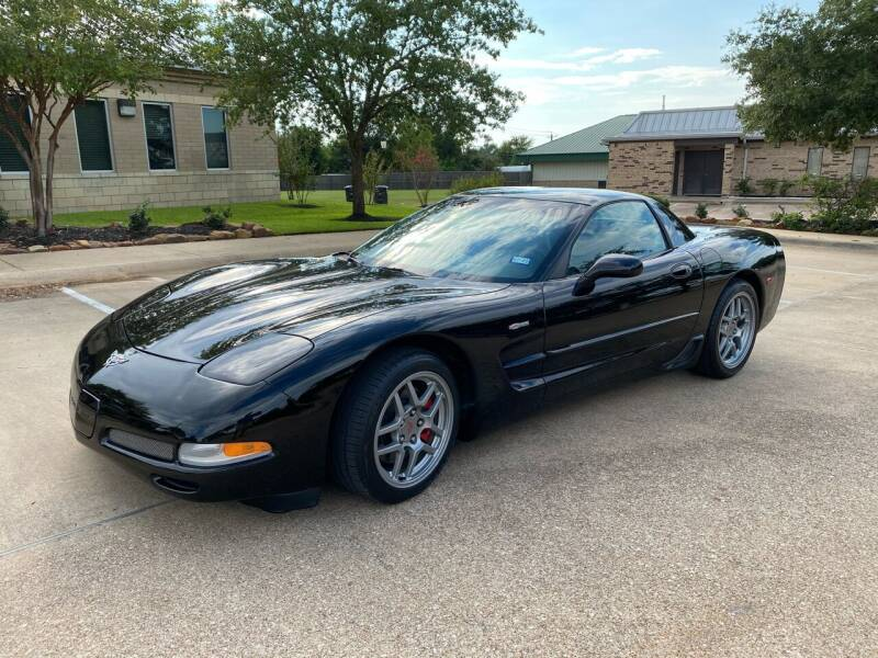 2003 Chevrolet Corvette for sale at Pitt Stop Detail & Auto Sales in College Station TX