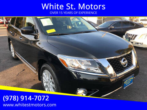 2013 Nissan Pathfinder for sale at White St. Motors in Haverhill MA
