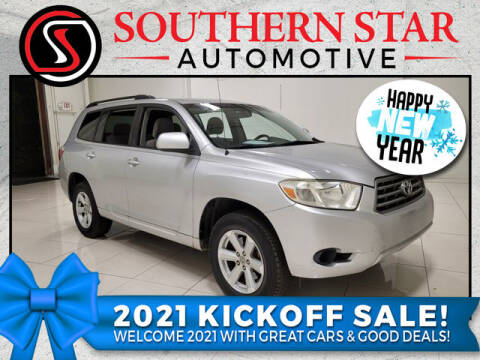 2008 Toyota Highlander for sale at Southern Star Automotive, Inc. in Duluth GA