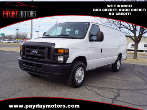 2013 Ford E-Series Cargo for sale at Payday Motors in Wichita And Topeka KS