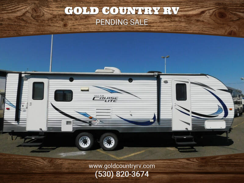 2015 Forest River SALEM CRUISE LITE 252RLXL for sale at Gold Country RV in Auburn CA