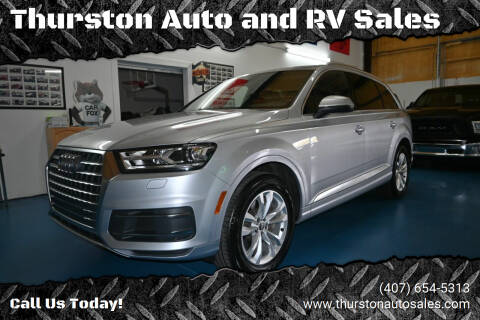 2017 Audi Q7 for sale at Thurston Auto and RV Sales in Clermont FL