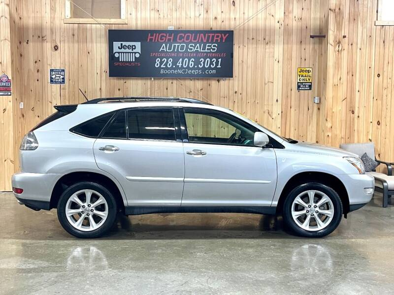 2008 Lexus RX 350 for sale at Boone NC Jeeps-High Country Auto Sales in Boone NC