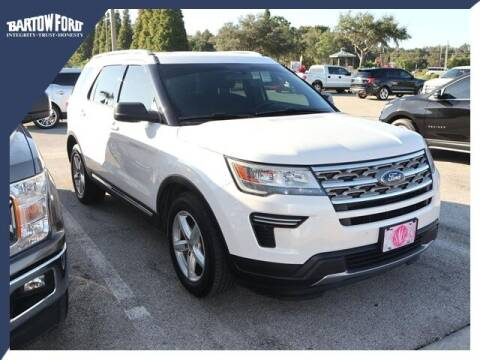 2018 Ford Explorer for sale at BARTOW FORD CO. in Bartow FL