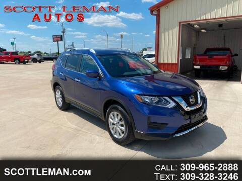 2020 Nissan Rogue for sale at SCOTT LEMAN AUTOS in Goodfield IL