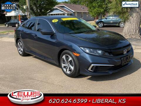 2020 Honda Civic for sale at Lewis Chevrolet Buick of Liberal in Liberal KS
