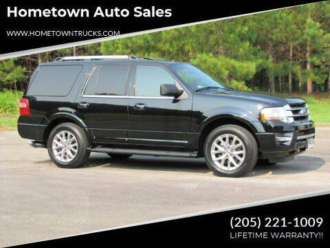 2017 Ford Expedition for sale at Hometown Auto Sales - SUVS in Jasper AL