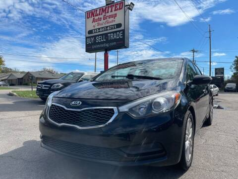 2015 Kia Forte for sale at Unlimited Auto Group in West Chester OH