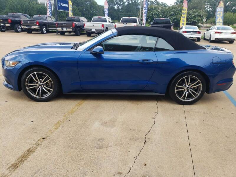 2017 Ford Mustang for sale at Crossroads Outdoor in Corinth MS