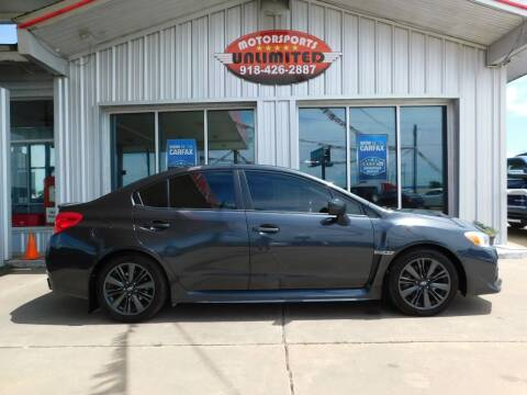 2015 Subaru WRX for sale at Motorsports Unlimited in McAlester OK