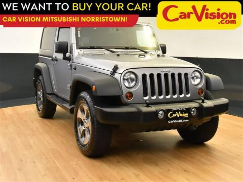 2013 Jeep Wrangler for sale at Car Vision Mitsubishi Norristown in Norristown PA