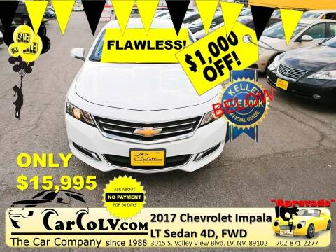 2017 Chevrolet Impala for sale at The Car Company in Las Vegas NV