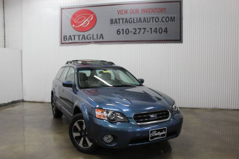 2006 Subaru Outback for sale at Battaglia Auto Sales in Plymouth Meeting PA