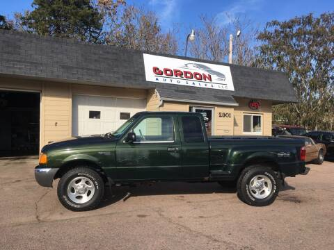 2001 Ford Ranger for sale at Gordon Auto Sales LLC in Sioux City IA
