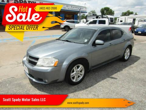 2010 Dodge Avenger for sale at Scott Spady Motor Sales LLC in Hastings NE