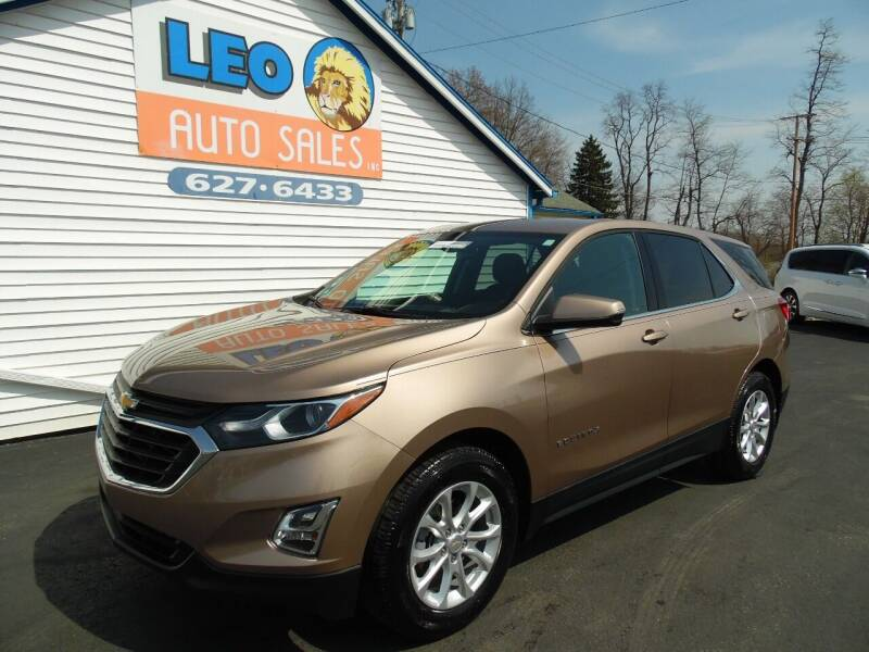 2019 Chevrolet Equinox for sale at Leo Auto Sales in Leo IN