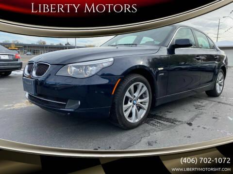 2010 BMW 5 Series for sale at Liberty Motors in Billings MT