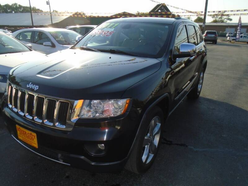 2011 Jeep Grand Cherokee for sale at River City Auto Sales in Cottage Hills IL