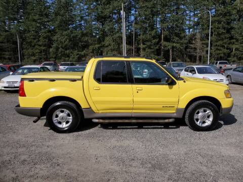 2002 Ford Explorer Sport Trac for sale at WILSON MOTORS in Spanaway WA
