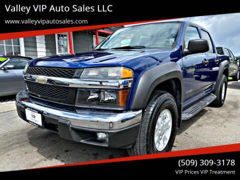 2005 Chevrolet Colorado for sale at Valley VIP Auto Sales LLC in Spokane Valley WA