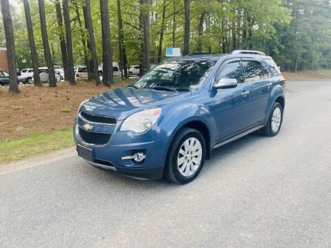 2011 Chevrolet Equinox for sale at H&C Auto in Oilville VA