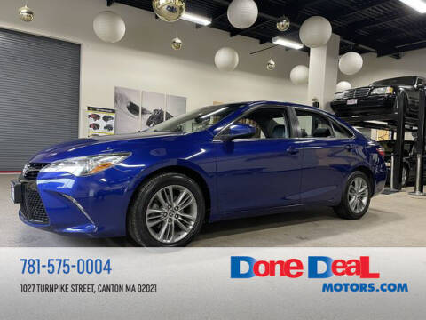2015 Toyota Camry for sale at DONE DEAL MOTORS in Canton MA