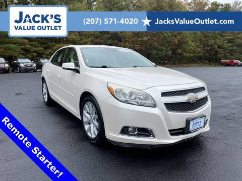2013 Chevrolet Malibu for sale at Jack's Value Outlet in Saco ME