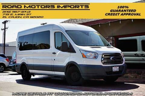 2016 Ford Transit Passenger for sale at Road Motors Imports in El Cajon CA