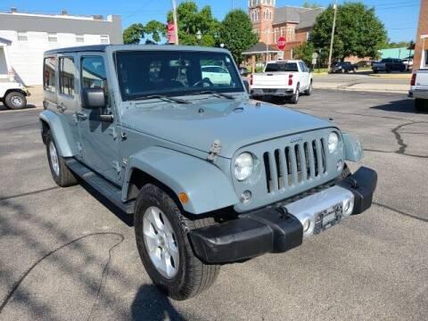 2014 Jeep Wrangler Unlimited for sale at LeMond's Chevrolet Chrysler in Fairfield IL