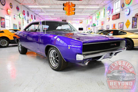 1968 Dodge Charger for sale at Classics and Beyond Auto Gallery in Wayne MI