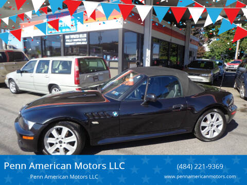 2000 BMW Z3 for sale at Penn American Motors LLC in Allentown PA
