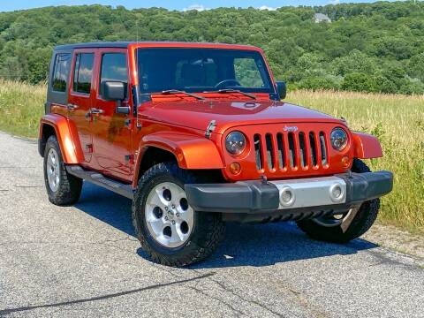 2009 Jeep Wrangler Unlimited for sale at York Motors in Canton CT