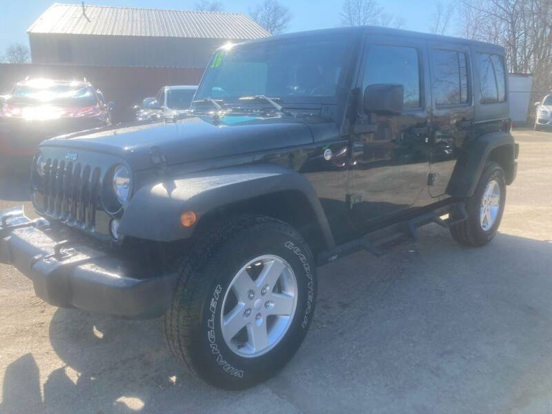 2016 Jeep Wrangler Unlimited for sale at SUNSET CURVE AUTO PARTS INC in Weyauwega WI