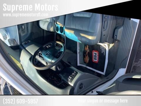 2003 Honda Odyssey for sale at Supreme Motors in Tavares FL