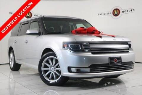 2016 Ford Flex for sale at INDY'S UNLIMITED MOTORS - UNLIMITED MOTORS in Westfield IN