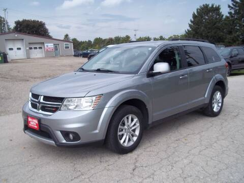 2016 Dodge Journey for sale at SHULLSBURG AUTO in Shullsburg WI