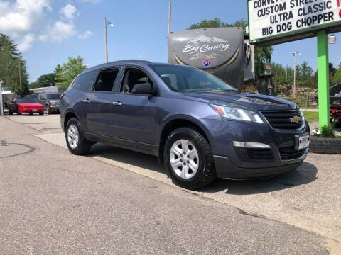 2014 Chevrolet Traverse for sale at Giguere Auto Wholesalers in Tilton NH