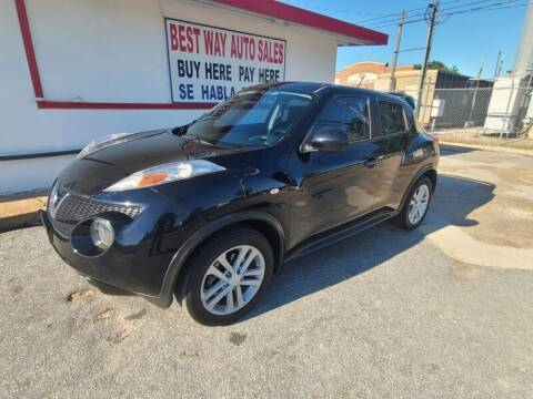 2011 Nissan JUKE for sale at Best Way Auto Sales II in Houston TX