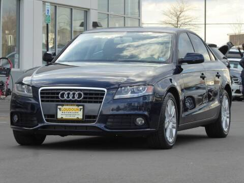 2011 Audi A4 for sale at Loudoun Motor Cars in Chantilly VA