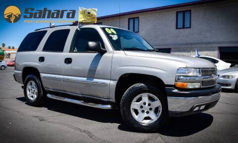 2004 Chevrolet Tahoe for sale at Sahara Pre-Owned Center in Phoenix AZ