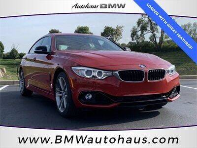 2015 BMW 4 Series for sale at Autohaus Group of St. Louis MO - 3015 South Hanley Road Lot in Saint Louis MO