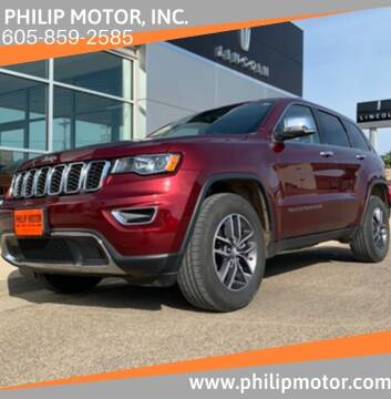 2018 Jeep Grand Cherokee for sale at Philip Motor Inc in Philip SD