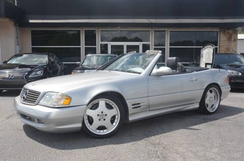 2001 Mercedes-Benz SL-Class for sale at Amyn Motors Inc. in Tucker GA