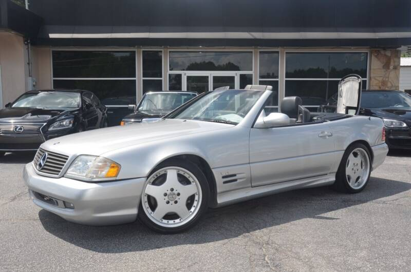 2001 Mercedes-Benz SL-Class for sale at Amyn Motors Inc. in Tucker GA